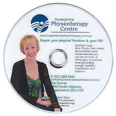 Ask about our free DVD that demonstrates simple exercises you can do at home or the gym to improve health, strength, balance, and co-ordination.