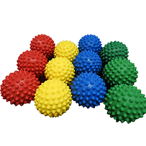 Spikey Massage Balls are an essential product used to relieve muscle trigger points for athletes or people suffering from minor aches and pains.