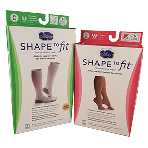 Shape to Fit hosiery range can help to improve your circulation, reduce leg fatigue and prevent swelling in the legs and feet.